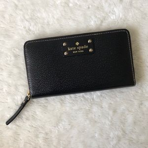 NWOT Kate Spade Leather Large Wallet Phone Clutch
